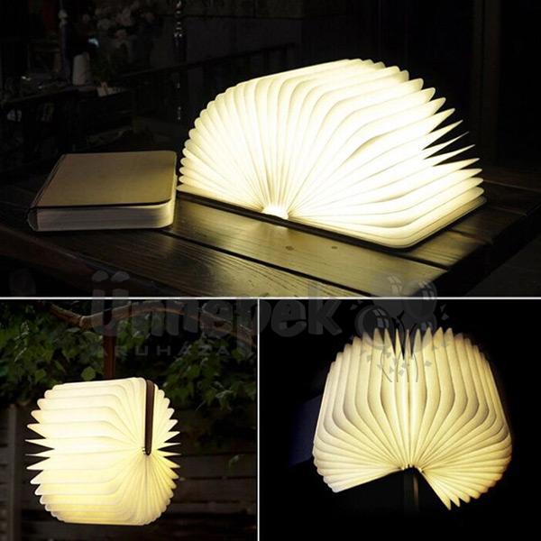 Színváltós Könyv LED-es Éjjeli Lámpa