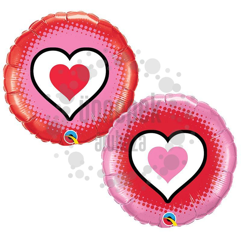 18 inch-es Only Hearts Fólia Lufi Valentin-napra