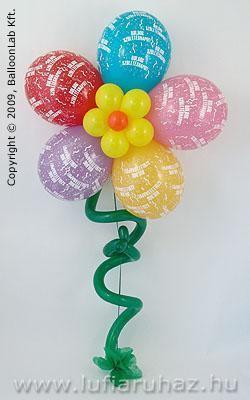 szülinapi virágok Boldog Születésnapot Virág Szülinapi Lufidekoráció szülinapi virágok