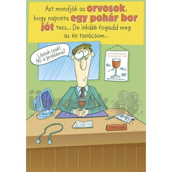 boldog 40 születésnapot képeslap Egy Pohár Bor Szülinapi Képeslap | Party Kellékek Webshop boldog 40 születésnapot képeslap