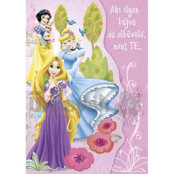 hercegnős szülinapi képeslapok Disney Hercegnők Szülinapi Képeslap | Party Kellékek Webshop hercegnős szülinapi képeslapok