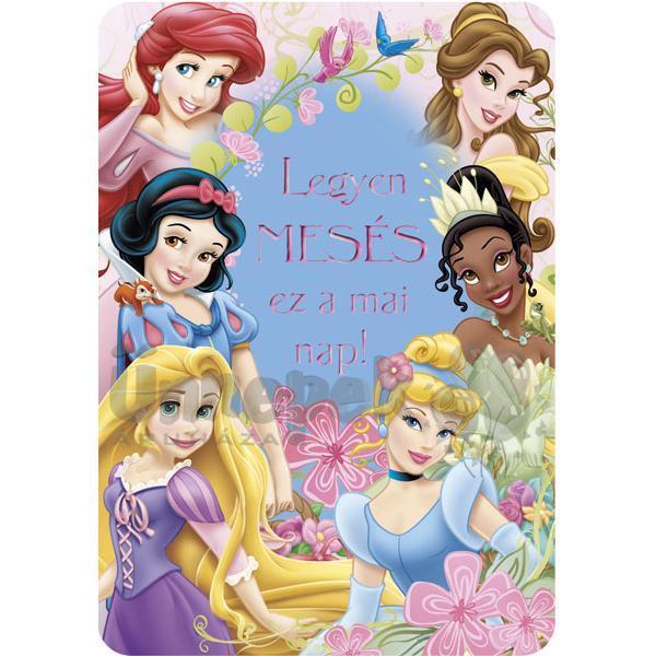 hercegnős szülinapi képeslapok Mesés Hercegnős Szülinapi Képeslap | Party Kellékek Webshop hercegnős szülinapi képeslapok