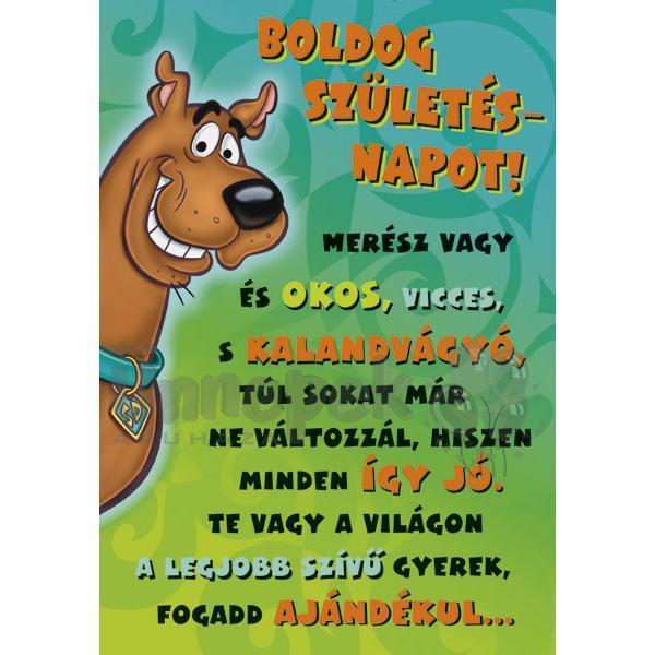 boldog névnapot vicces képeslap Scooby Doo Nagy Ölelés Szülinapi Képeslap boldog névnapot vicces képeslap