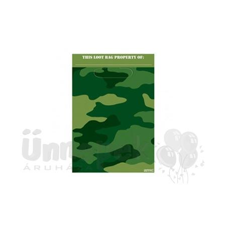 Katonai Terepmintás Ajándékzacskó - 8 db-os