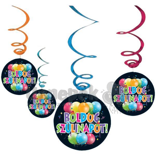 szülinapi kellékek webshop Boldog Szülinapot Függő Dekoráció | Party Kellékek Webshop szülinapi kellékek webshop
