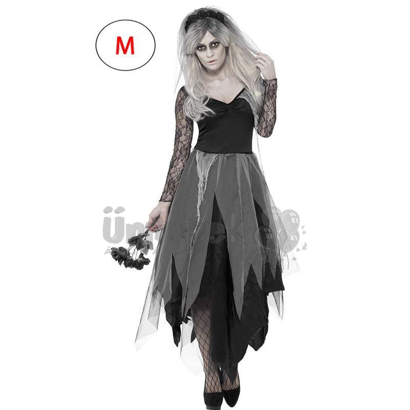 ea7de671b3 Temető Halott Menyasszony Jelmez - M | Party Kellékek Webshop