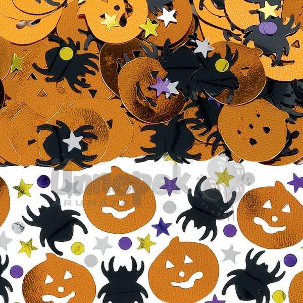 Tök és Pók Konfetti Halloweenre - 14 gramm