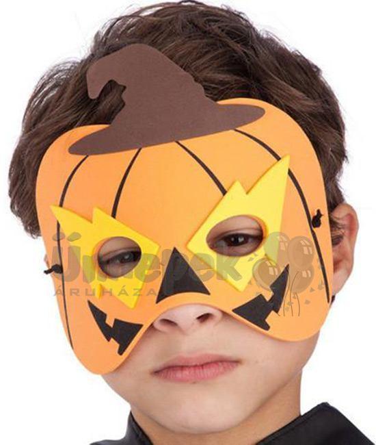 Tök Szemmaszk Gyerekeknek Halloween-ra