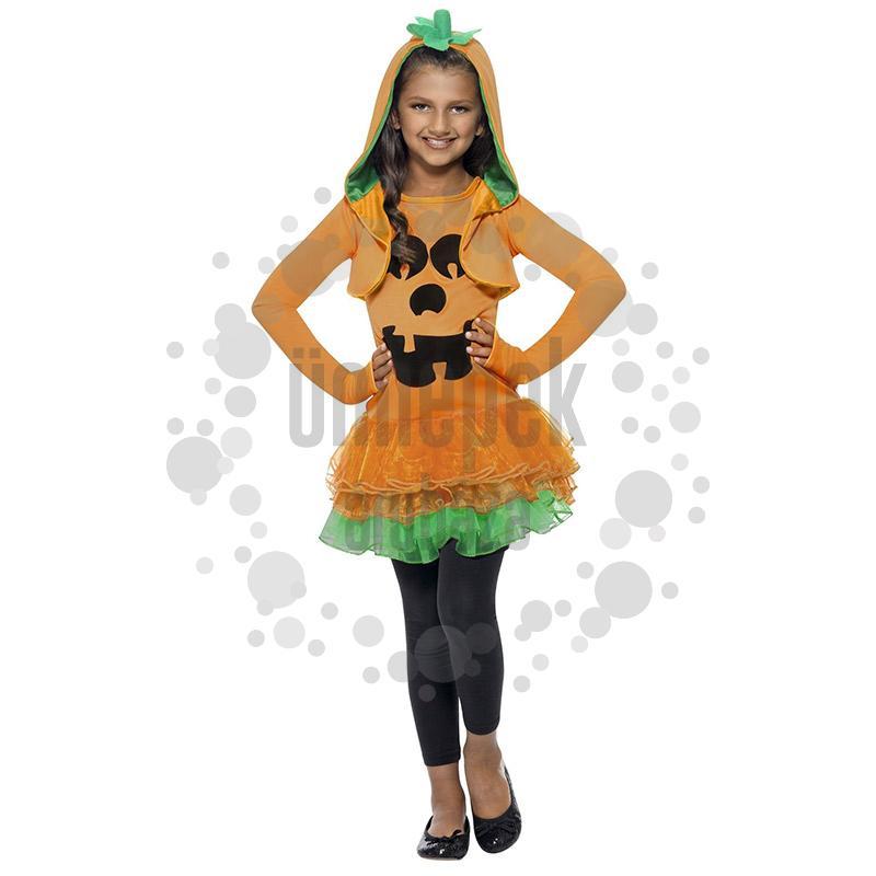 Halloween Tök Tütü Jelmez Gyerekeknek - L-es