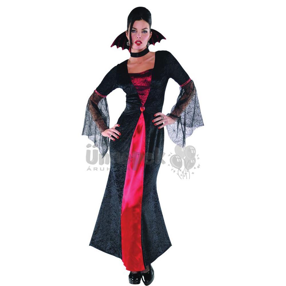 Vámpír Úrnő Jelmez Halloween-re, M-es