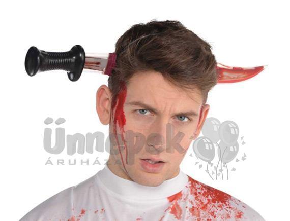 Véres Késsel Átszúrt Fej