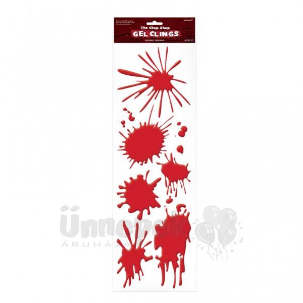 Vértócsák Szilikon Dekoráció - 9 db-os