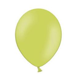 5 inch-es Pastel Apple Green - Almazöld Kerek Lufi (100 db/csomag)