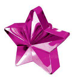 Magenta Rózsaszín Csillag Léggömbsúly