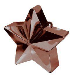 Csokoládébarna Csillag Léggömbsúly