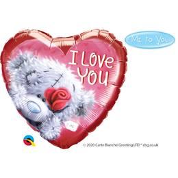 18 inch-es Tatty Teddy I Love You Szerelmes Fólia Lufi