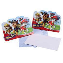 Mancs Őrjárat - Paw Patrol Parti Meghívókártya és Boríték - 8 db-os