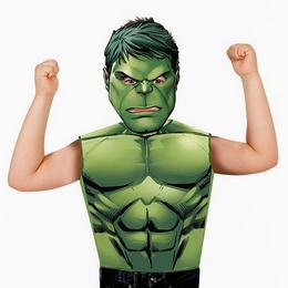 Hulk Jelmezpóló és Maszk, 3-6 Éves Gyerekeknek