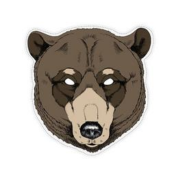 Medve álarc gyerekeknek a rémületes és aranyos összhatásért