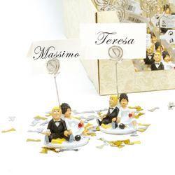 Menyasszony-Vőlegény Ültetőkártya-Tartó