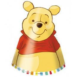 Winnie Sweet Tweets - Micimackó Parti Kalap - 6 db-os