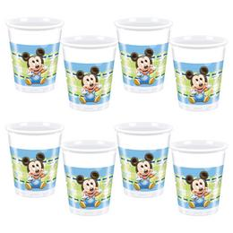 Mickey Baby Parti Pohár, 8 db, 200 ml