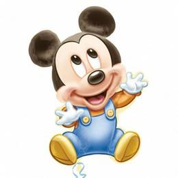 Mickey 1st Birthday Boy Szülinapi Super Shape Héliumos Fólia Lufi