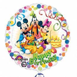 17 inch-es Mikiegér és Barátai - Mickey & Friends Party Héliumos Fólia Lufi