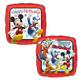 18 inch-es Mickey Mouse and Friends Happy Birthday Roadster Racers Szülinapi Fólia Lu