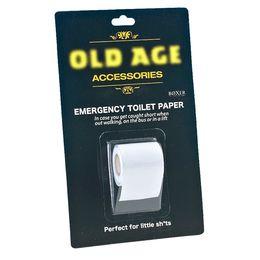 Mini Toalett Papír Végszükség Esetére