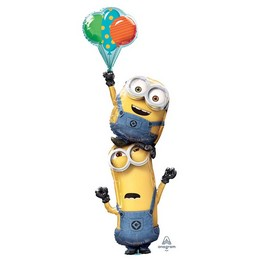 Minions Minyonok Multi-Balloon Héliumos Fólia Lufi