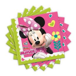 Minnie Happy Helpers Parti Szalvéta - 33 cm x 33 cm, 20 db-os