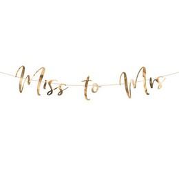 Miss to Mrs Rosegold Dekorációs Esküvői Füzér