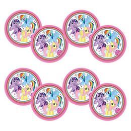 My Little Pony Rainbow - Én Kicsi Pónim Parti Tányér - 23 cm, 8 db-os