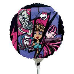 9 inch-es Monster High Fólia Lufi Pálcán