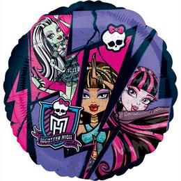 18 inch-es Monster High Group Héliumos Fólia Lufi