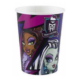 Monster High 2 Parti Pohár - 250 ml, 8 db-os