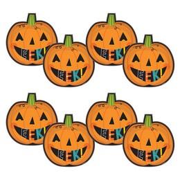 Mosolygó Tök Mintás Tányér Halloween-re