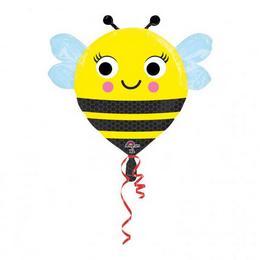 22 inch-es Happy Buzz n Bee - Boldog Méhecske Fólia Lufi