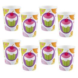 Muffin Parti Pohár - 270 ml, 8 db-os