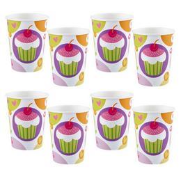 Muffin Parti Pohár - 270 ml, 8 db-os