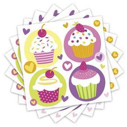 Muffin Parti Szalvéta - 33 cm x 33 cm, 20 db-os