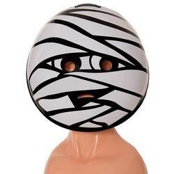 Múmia Emoji Maszk Halloween-ra