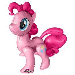 Én Kicsi Pónim - Pinkie Pie Sétáló Héliumos Fólia Lufi, 119 cm
