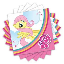 My Little Pony Rainbow Parti Szalvéta - 33 cm x 33 cm, 20 db-os