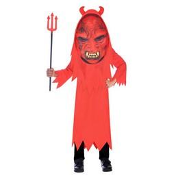 Nagy Fejű Ördög Gyerek Jelmez