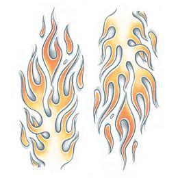Nagy Tetoválás - Lángnyelvek