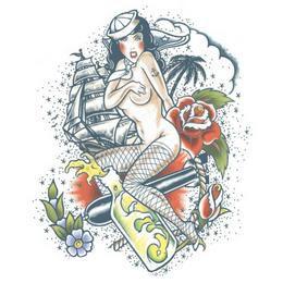 Nagy Tetoválás - Szexi Matrózlány