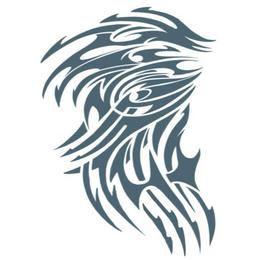 Nagy Tetoválás - Törzsi Motívum