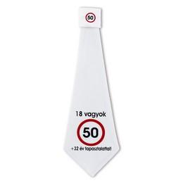 50. Születésnapi Sebességkorlátozó Számos Nyakkendő